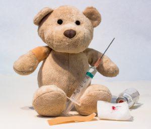 Impfen, Teddy, Spritze