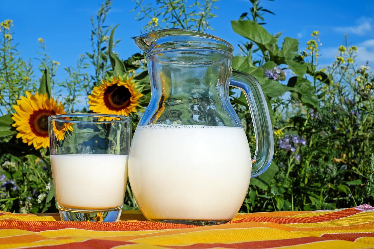 Milch, Milchkanne